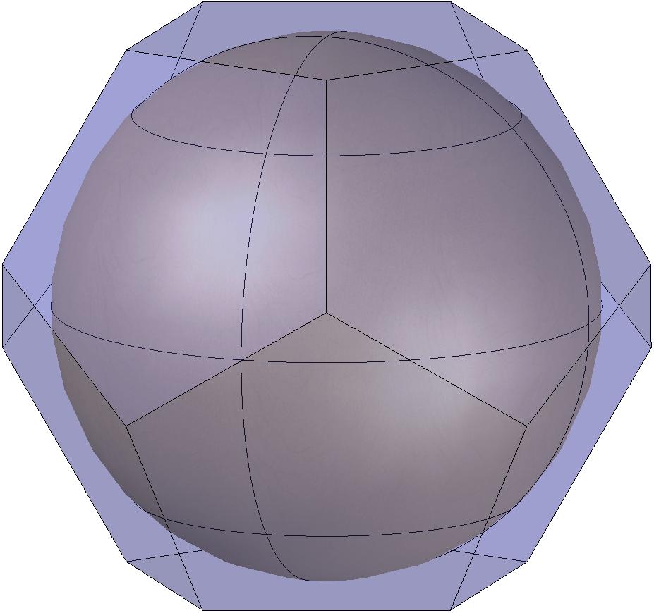dodecaedro-circunscrito