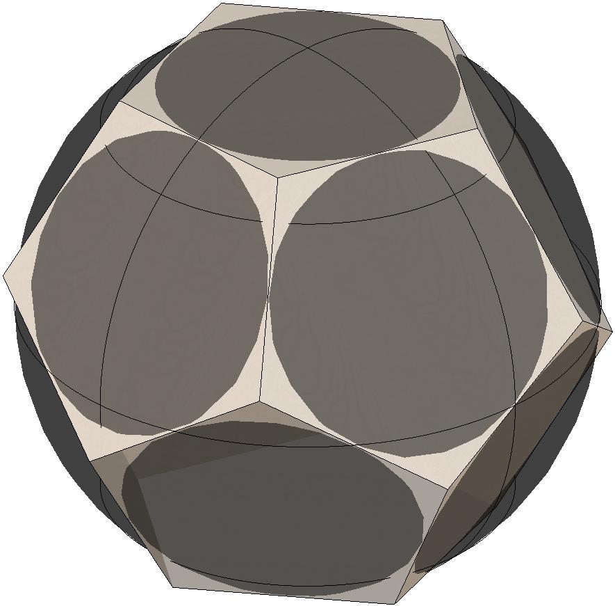 dodecaedro-tangente-círculo