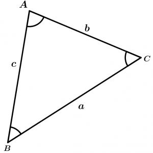 triangulo de funciones trigonometricas