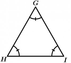 Triángulo equiángulo