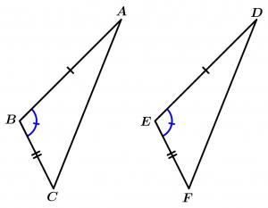 triángulos_congruentes_criterio_lado_ángulo_lado