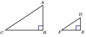 semejanza_de_triángulos_teorema_4