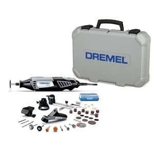Dremel 4000-4-34 Kit de herramientas giratorias de alto rendimiento con herramienta giratoria de velocidad variable, 4 aditamentos y 34 accesorios