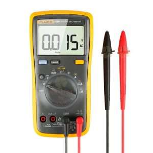 FLUKE 15B + 4000 Counts AC-DC Voltage, Current, Capacitancy, Ohm Auto-Manual Range Multímetro digital