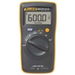 Fluke 101 Basic Digital Multimeter + TL75 Test Lead Pocekt Portable Meter Equipment Industrial by Fluke