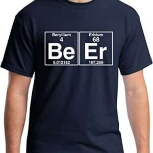 Camisa Tabla Periódica de los Elementos Químicos Be-Er